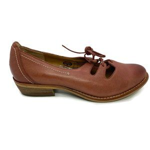 Fossil Leather Lace-up Shoes Brown